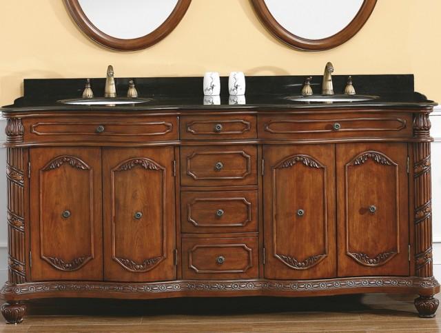 72 Double Sink Vanity Granite Top Home Design Ideas