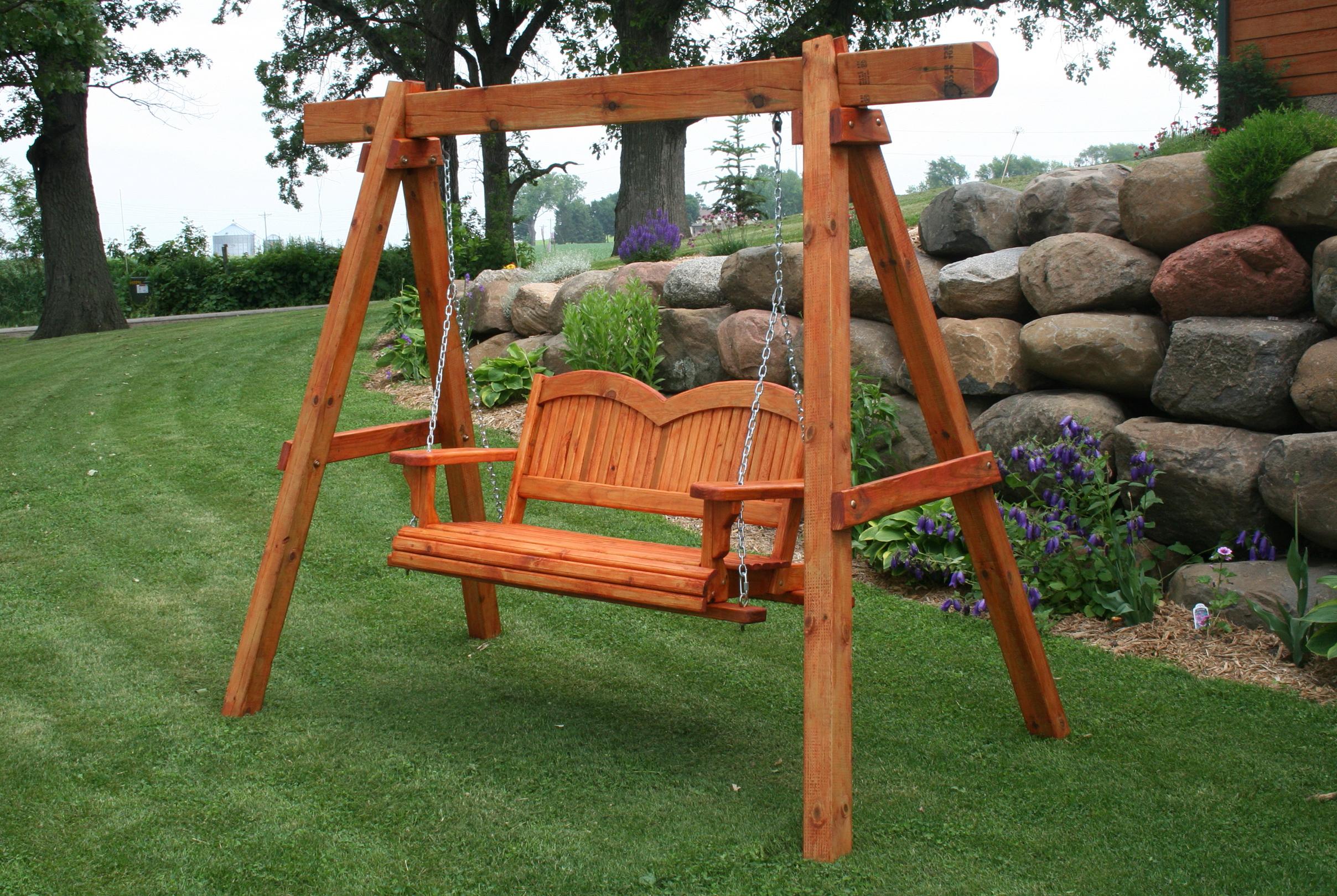A Frame Porch Swing Plans | Home Design Ideas