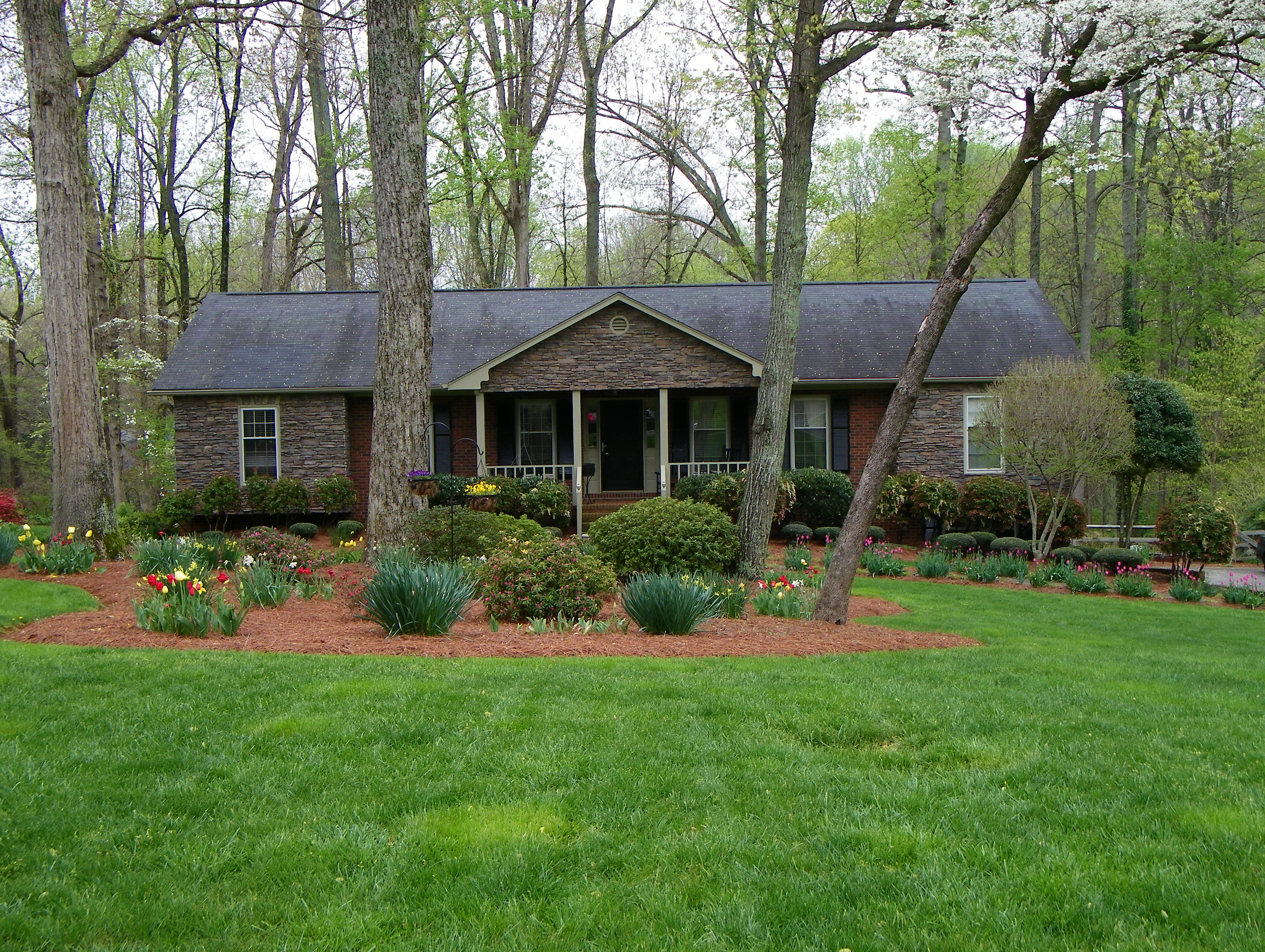 Add A Front Porch On A Ranch Style House