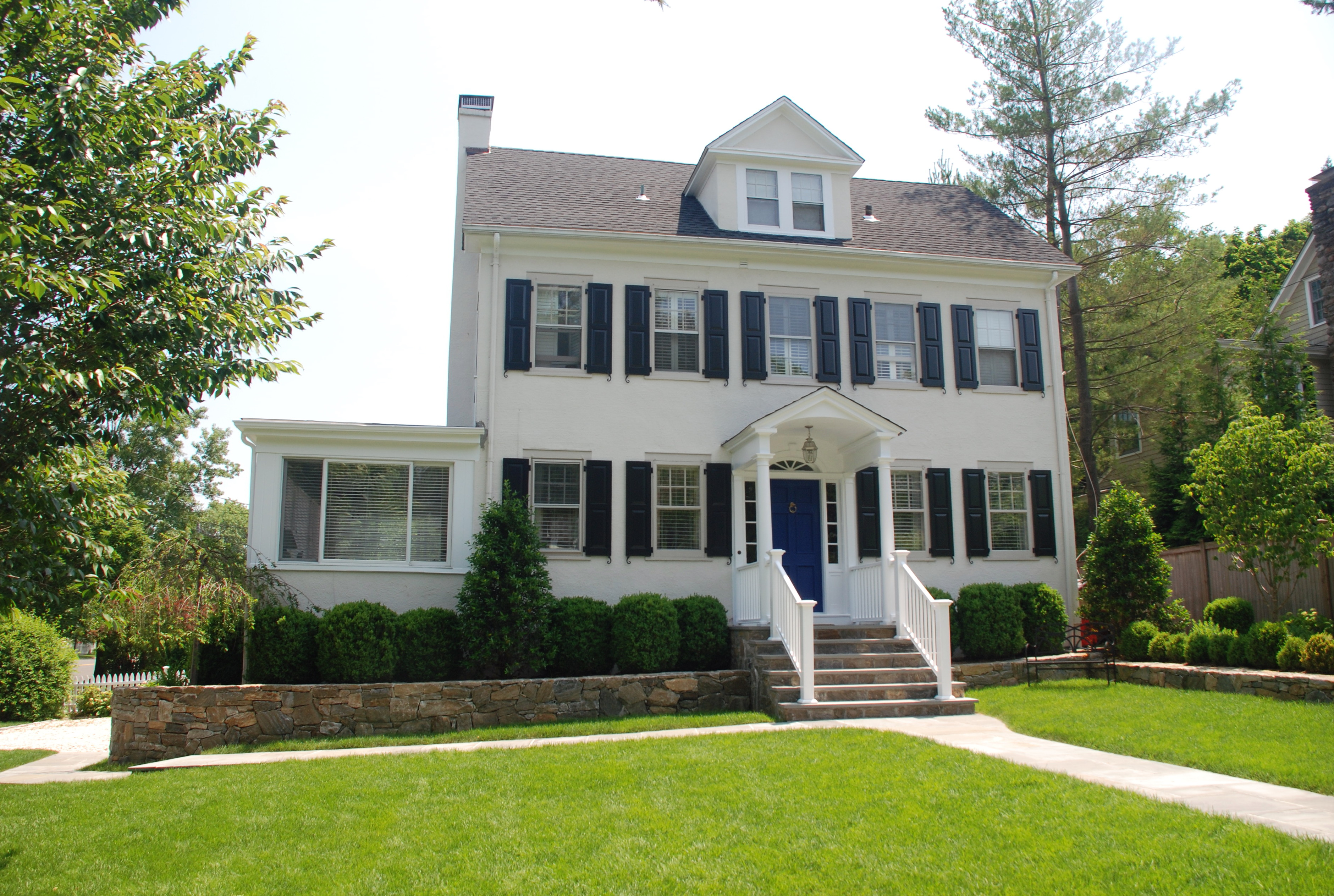Add A Front Porch To A Colonial