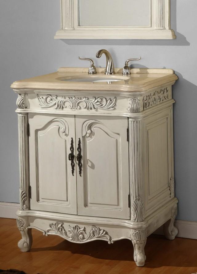 Antique White Bathroom Vanity Home Depot Home Design Ideas