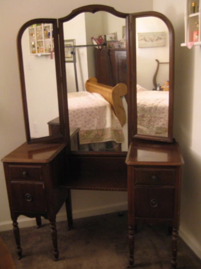 Www.accessnw.org/wp-content/uploads/2016/02 - Antique Wood Vanity With Mirror Antique Furniture