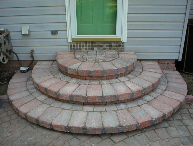 Back Porch Steps Ideas