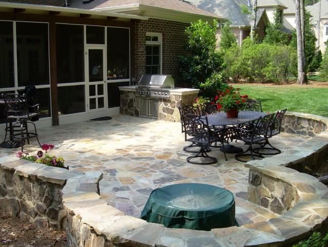 Backyard Porch Design