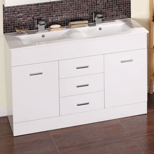 Bathroom Double Sink Vanity Units