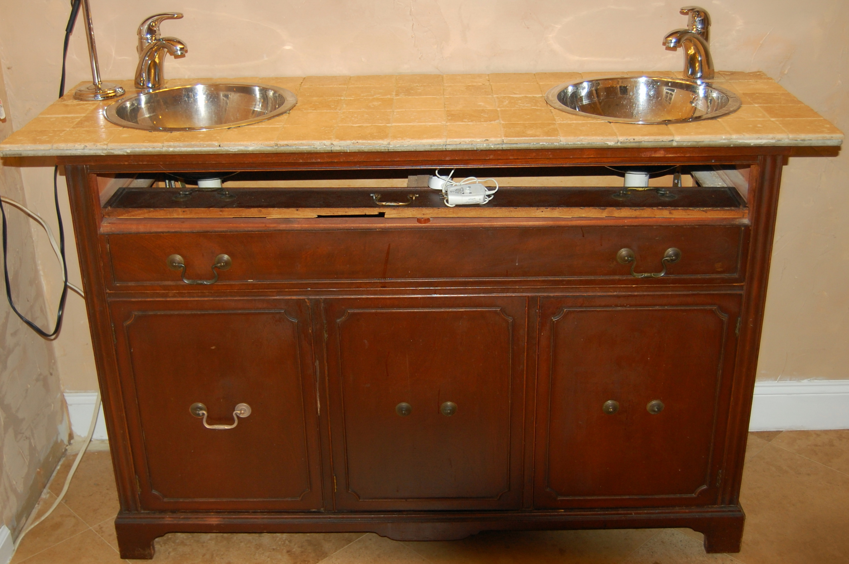 Bathroom Vanities Made From Old Dressers Home Design Ideas