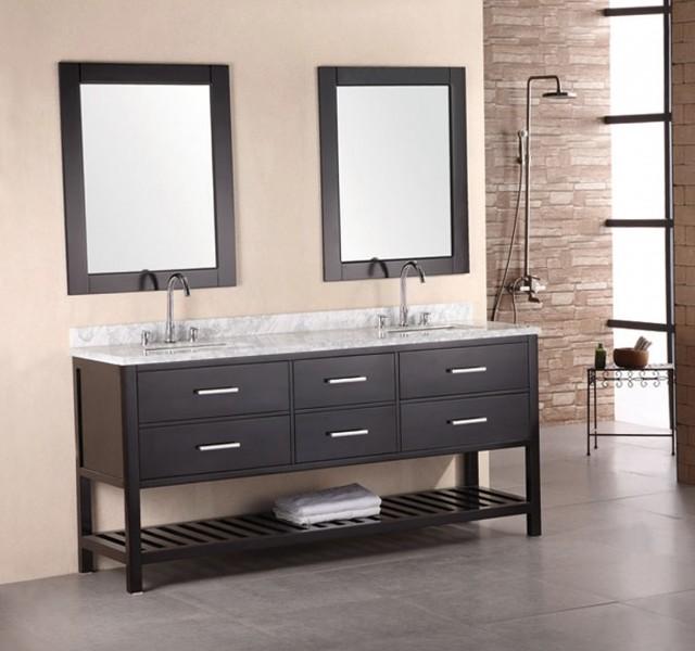 Bathroom Vanity Open Bottom