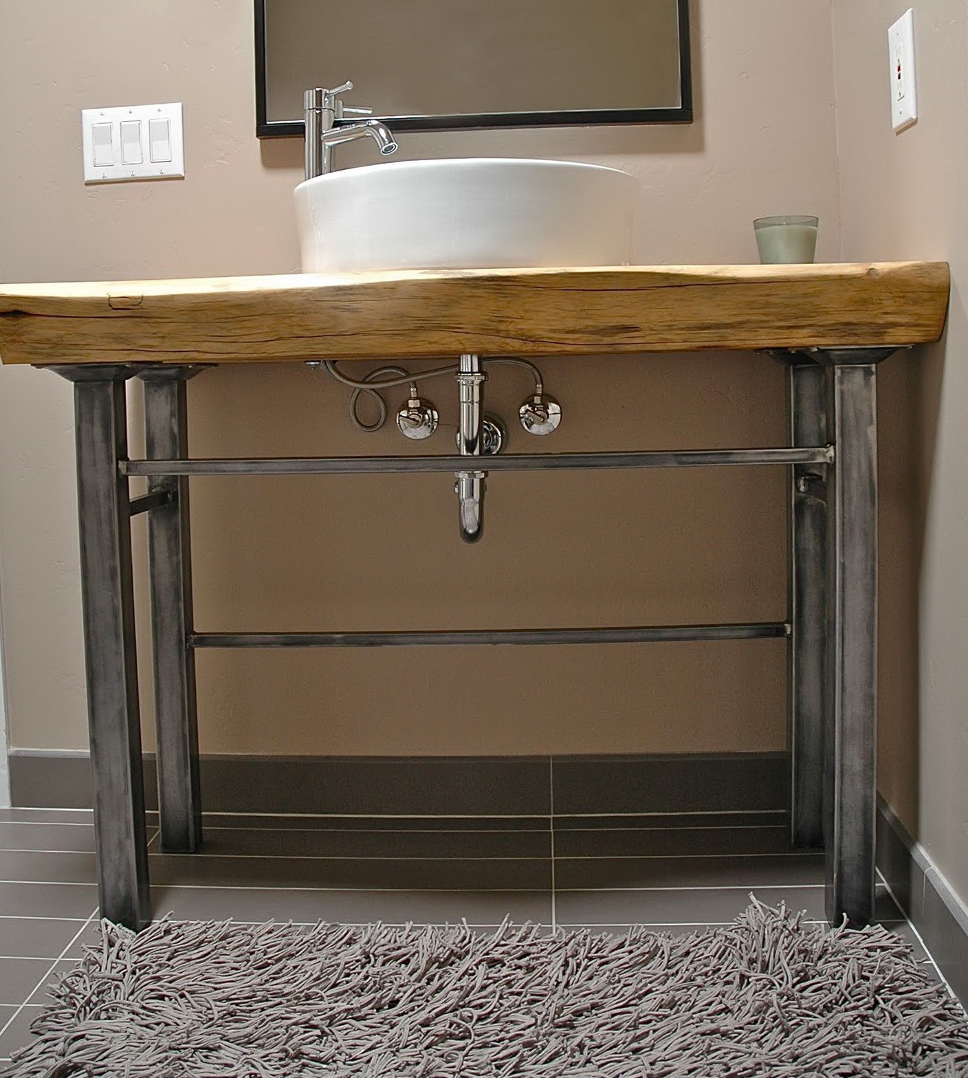Metal Leg Bathroom Vanity. Bathroom Vanity With Metal Legs