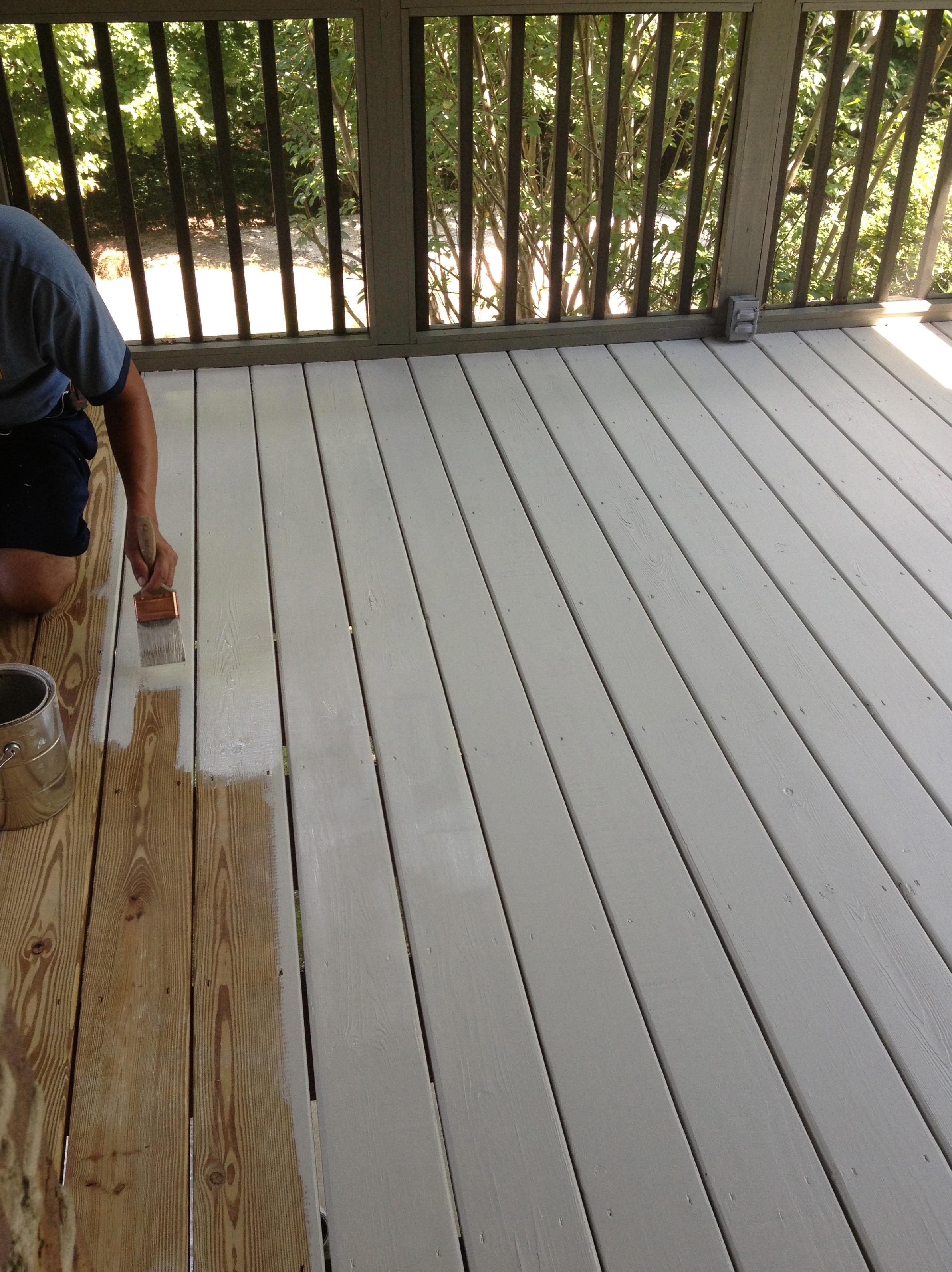 Porch And Patio Paint Colors