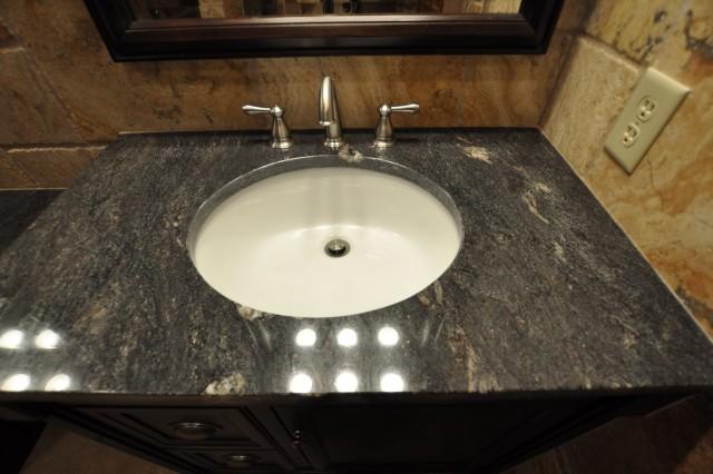 Black Granite Vanity Top