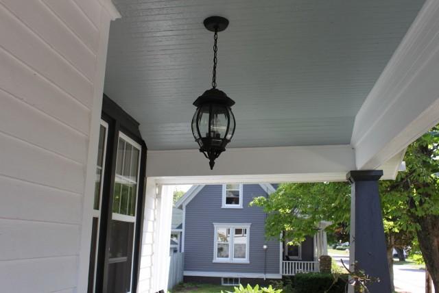 blue lights on porch home design ideas. Black Bedroom Furniture Sets. Home Design Ideas
