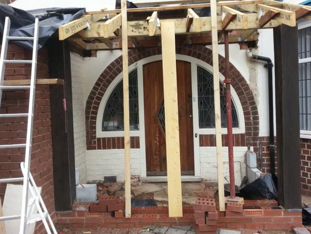 Build Front Porch Roof