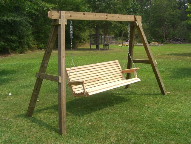 Build Porch Swing Frame