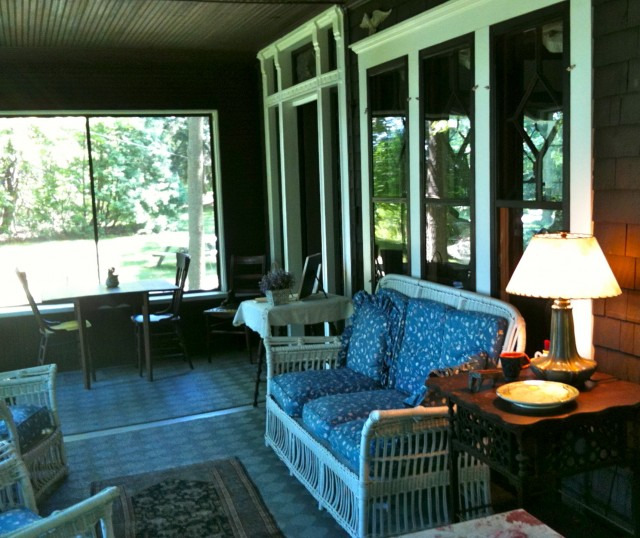 Bungalow Enclosed Front Porch