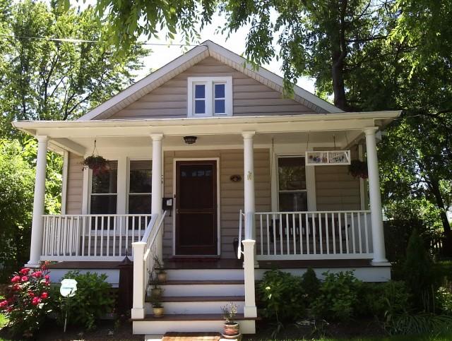 Bungalow Front Porch Addition