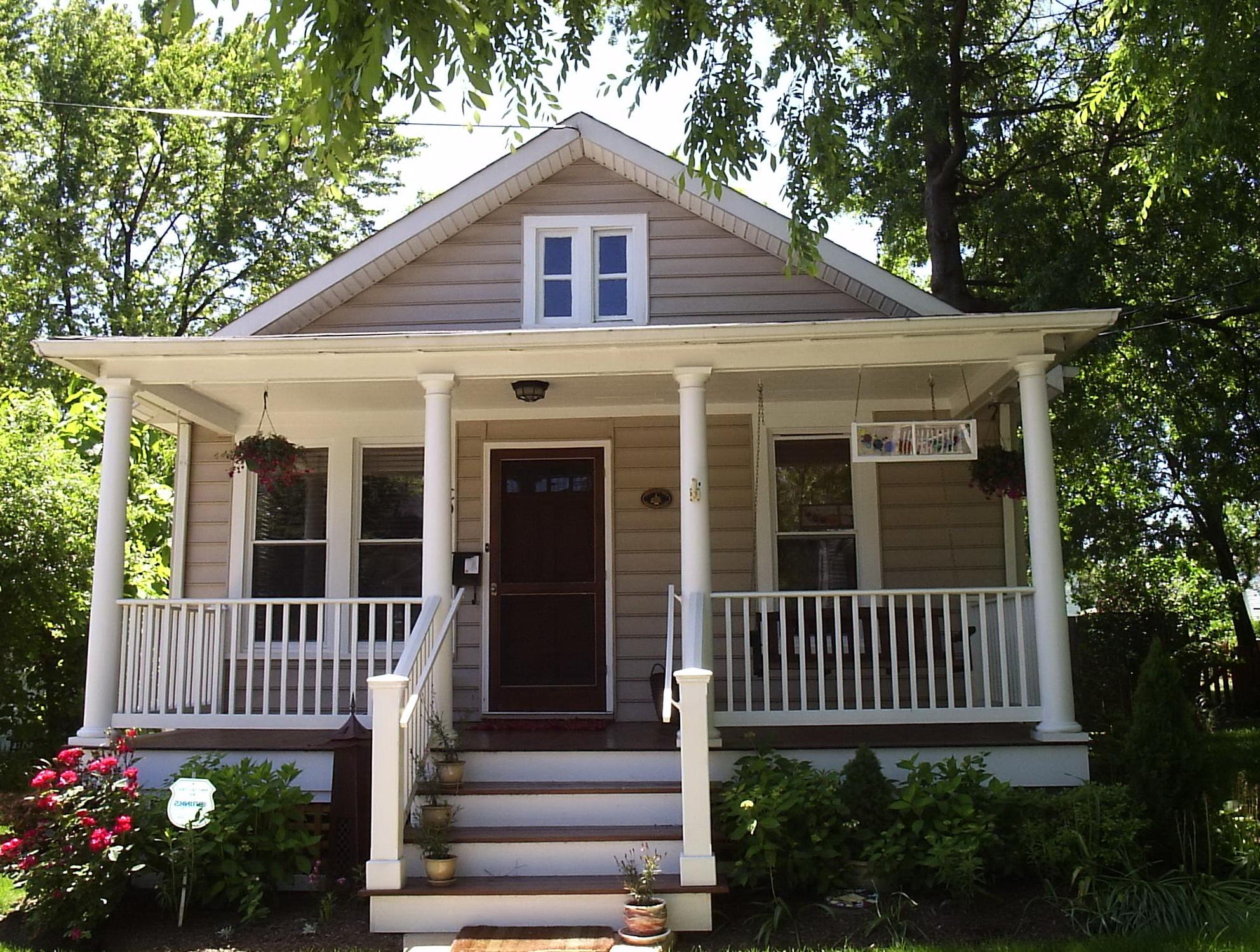 Bungalow Front Porch Addition Home Design Ideas
