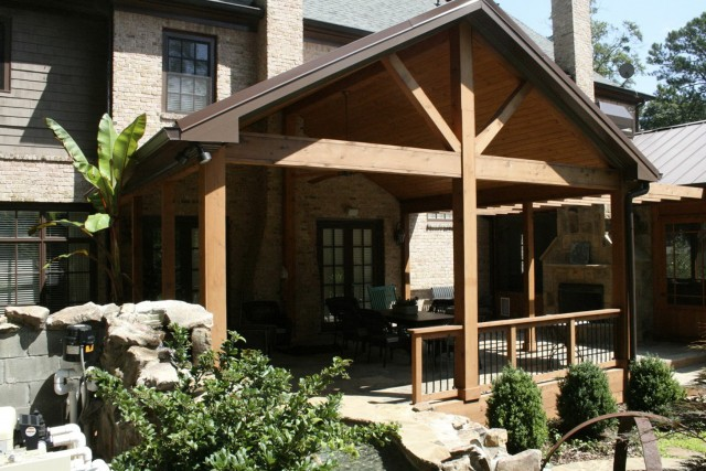 Cedar Porch Post Ideas Home Design Ideas