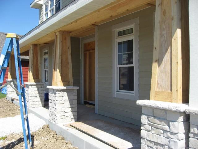 Cedar Front Porch Post