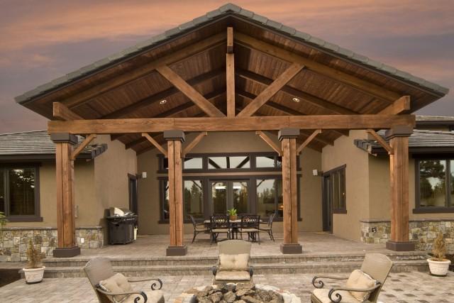 Cedar Porch Post Ideas