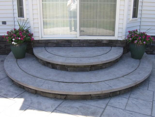 Cement Front Porch Steps