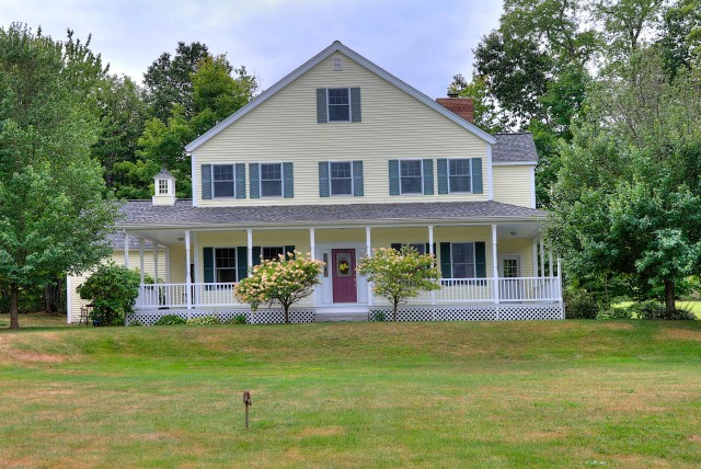 Country Farmhouse Wrap Around Porch