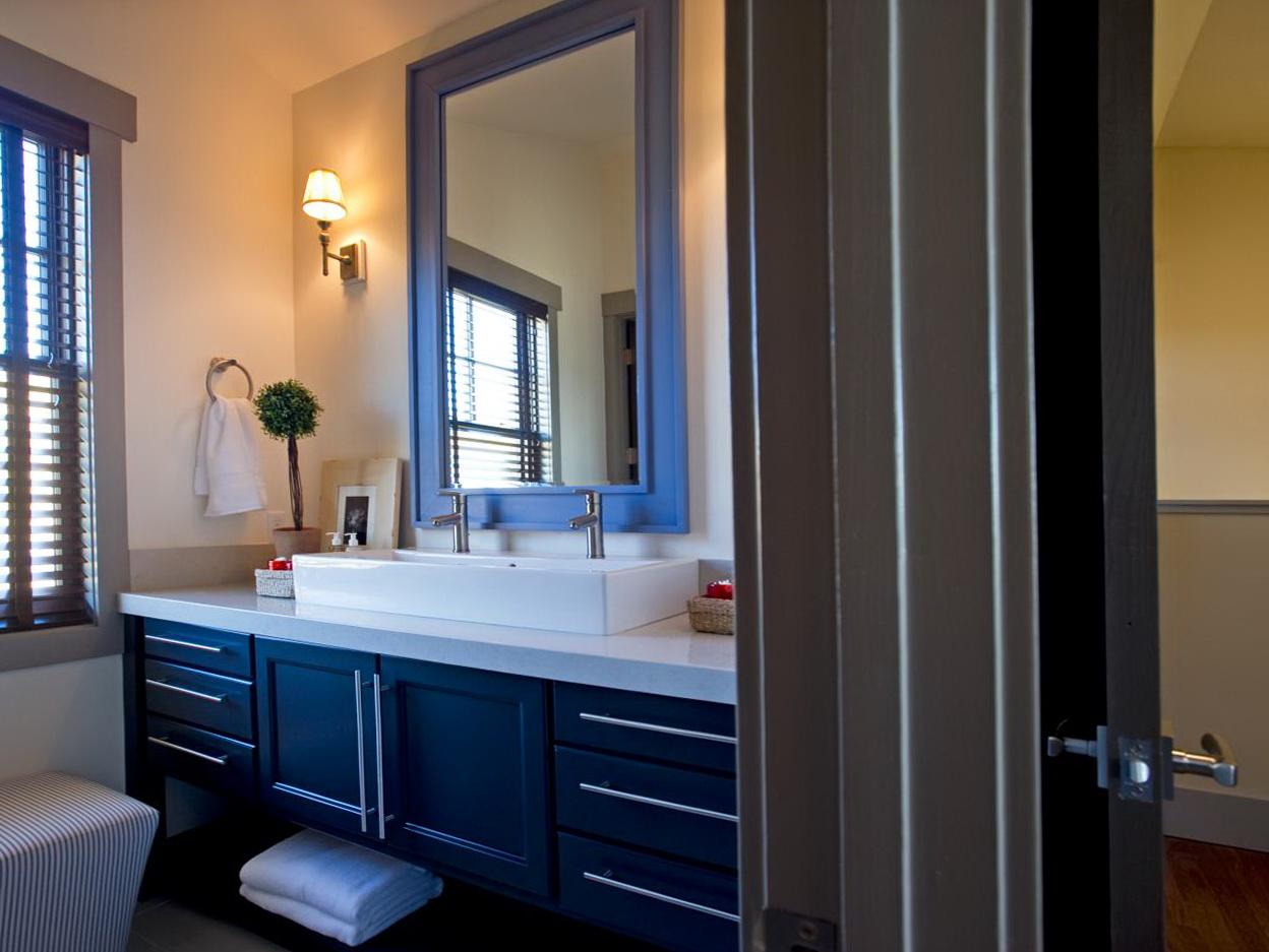 100 blue bathroom vanity cabinet unstained teak wood trough