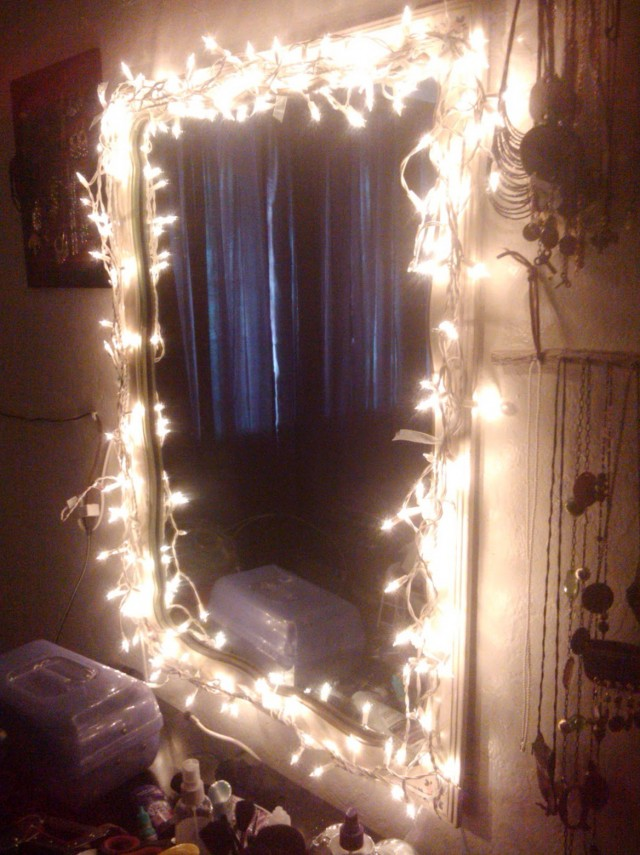 Diy Vanity Light Mirror