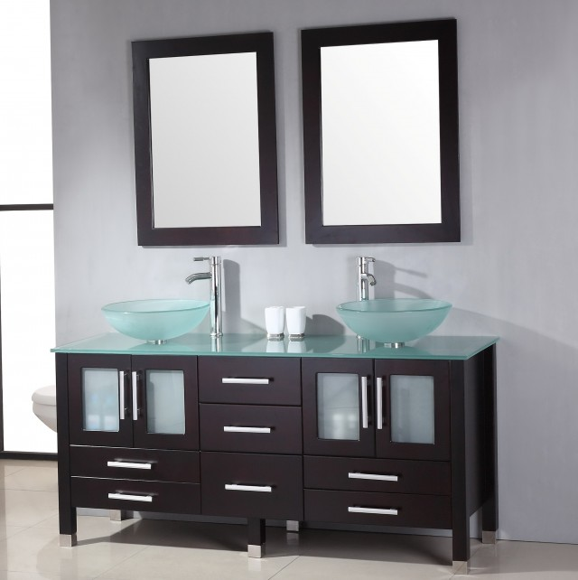 Double Bowl Vanity Dimensions