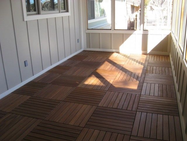 Flooring For Screened Porch Options