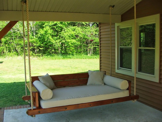 Porch Swing Bed Plans Free Home Design Ideas