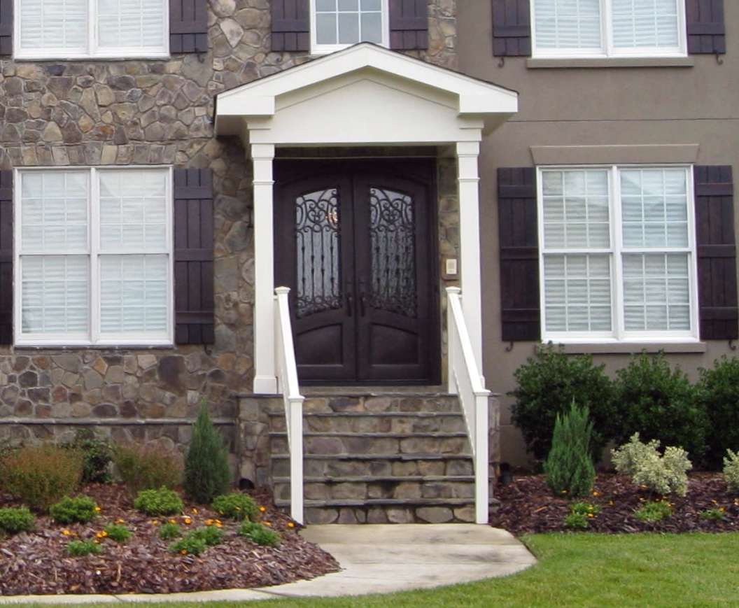 Front Porch Construction Details Home Design Ideas