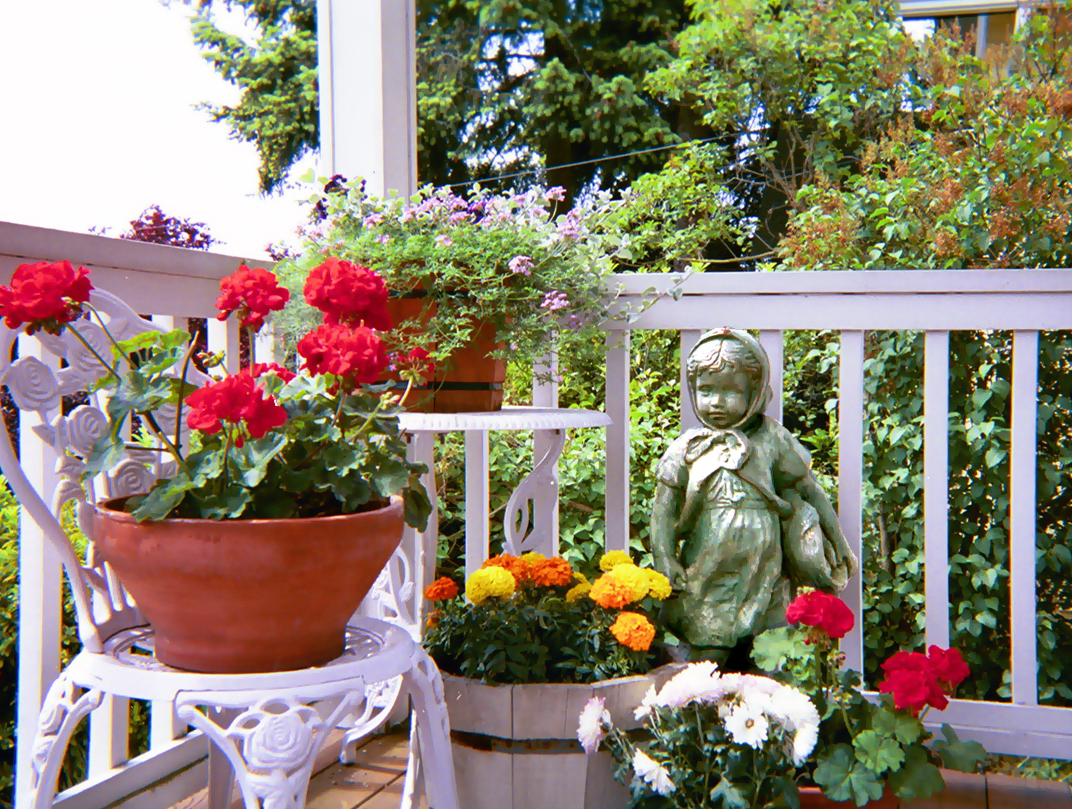 Front porch container gardening ideas - Front Porch Container Gardening Ideas
