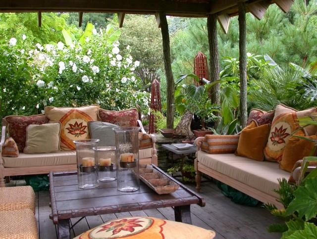 Front Porch Garden Design