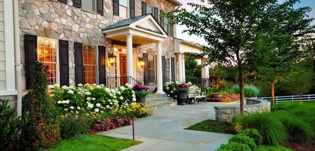 Front Porch Garden Landscape