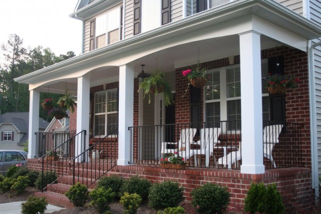 Front Porch Pillar Covers
