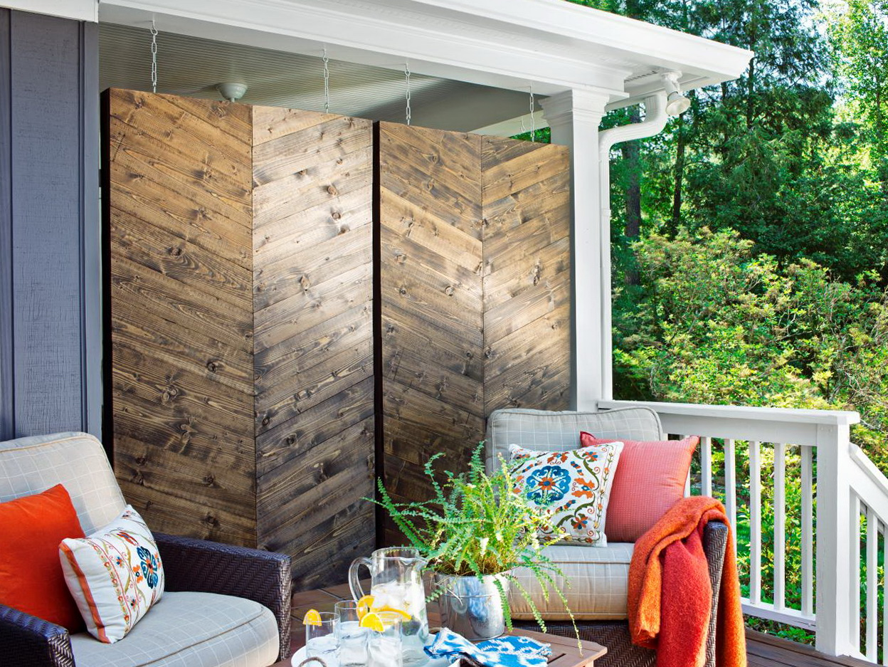 Front Porch Privacy Ideas Home Design Ideas