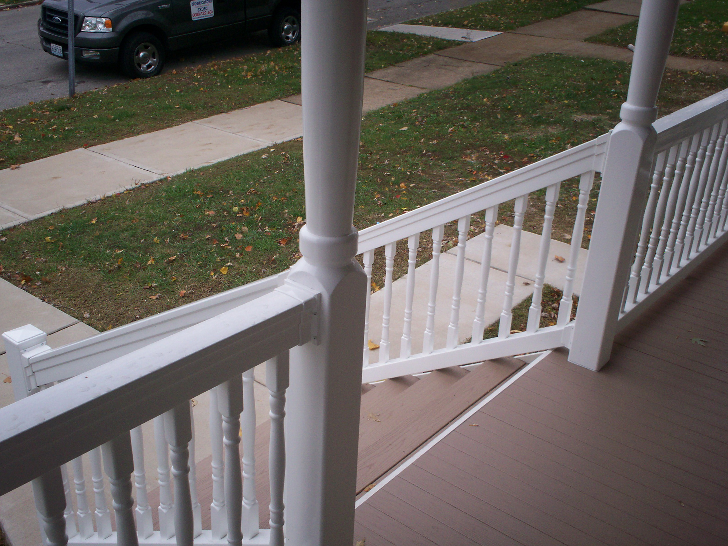 Front Porch Rails And Posts