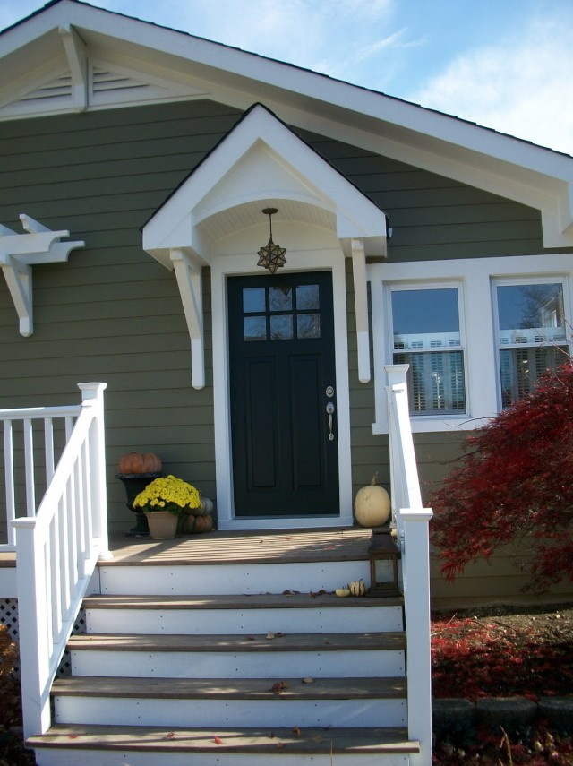 Front Porch Without Overhang - Framing A Porch Overhang Home Design Ideas