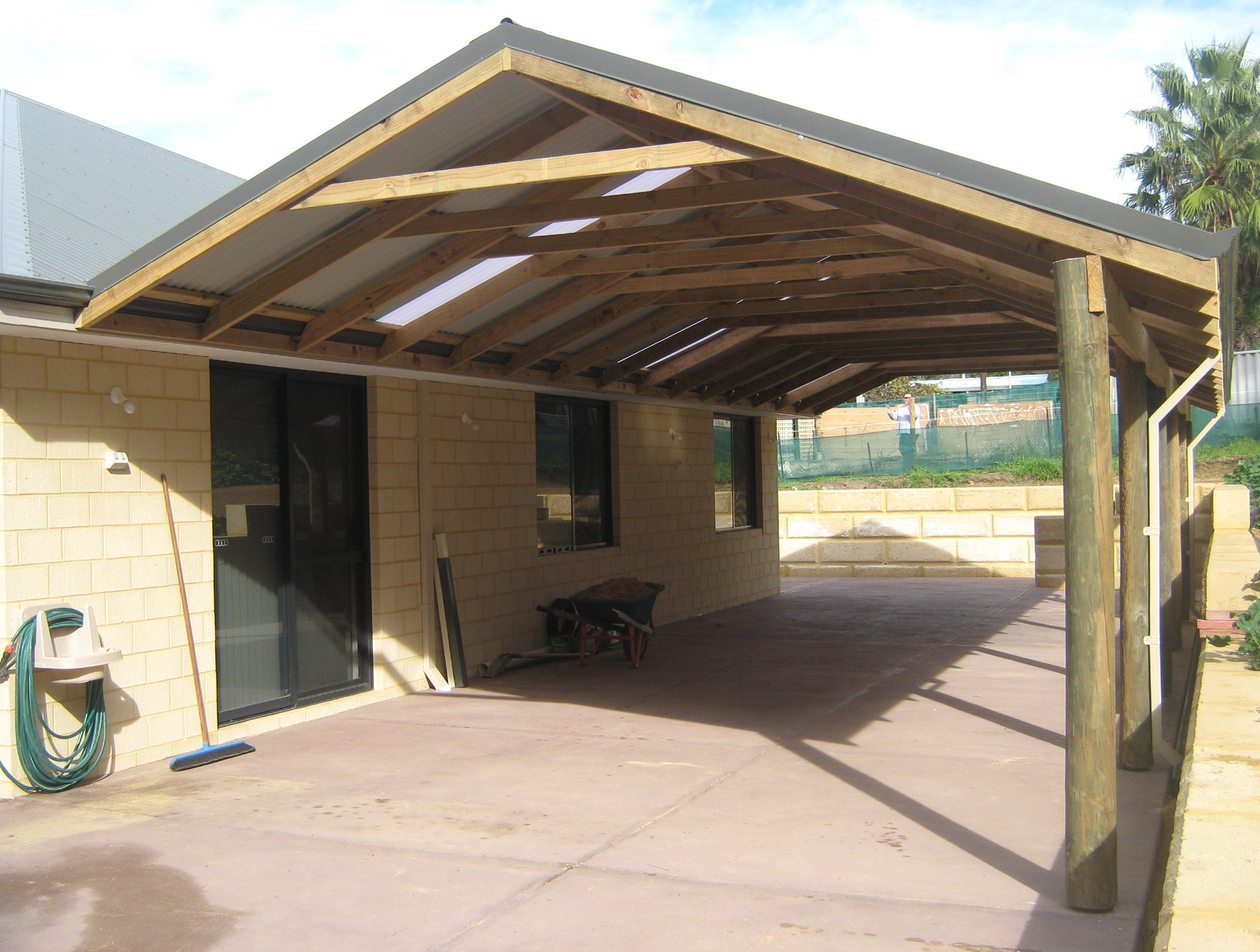 Gable End Porch Roof | Home Design Ideas