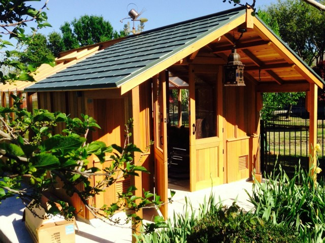 Garden Shed With Porch Kits