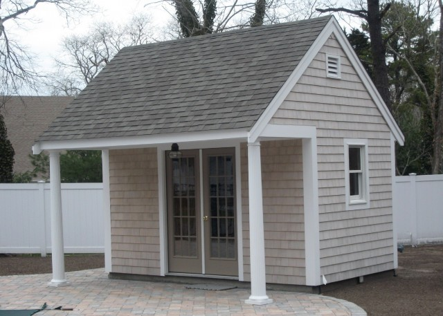 Garden Shed With Porch Plans