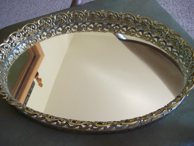 Glass Vanity Tray Target