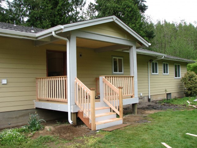 Hip Roof Front Porch Addition