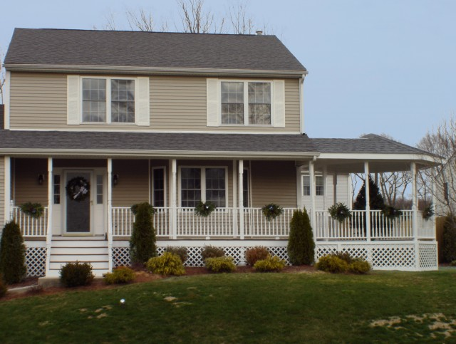 Homes Front Porch Designs Pictures