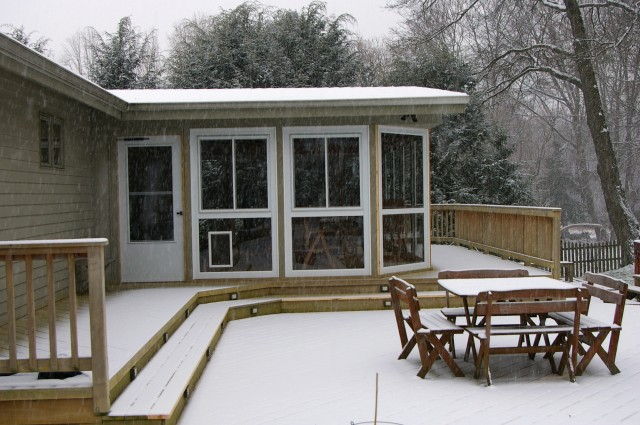 How To Enclose A Porch For Winter
