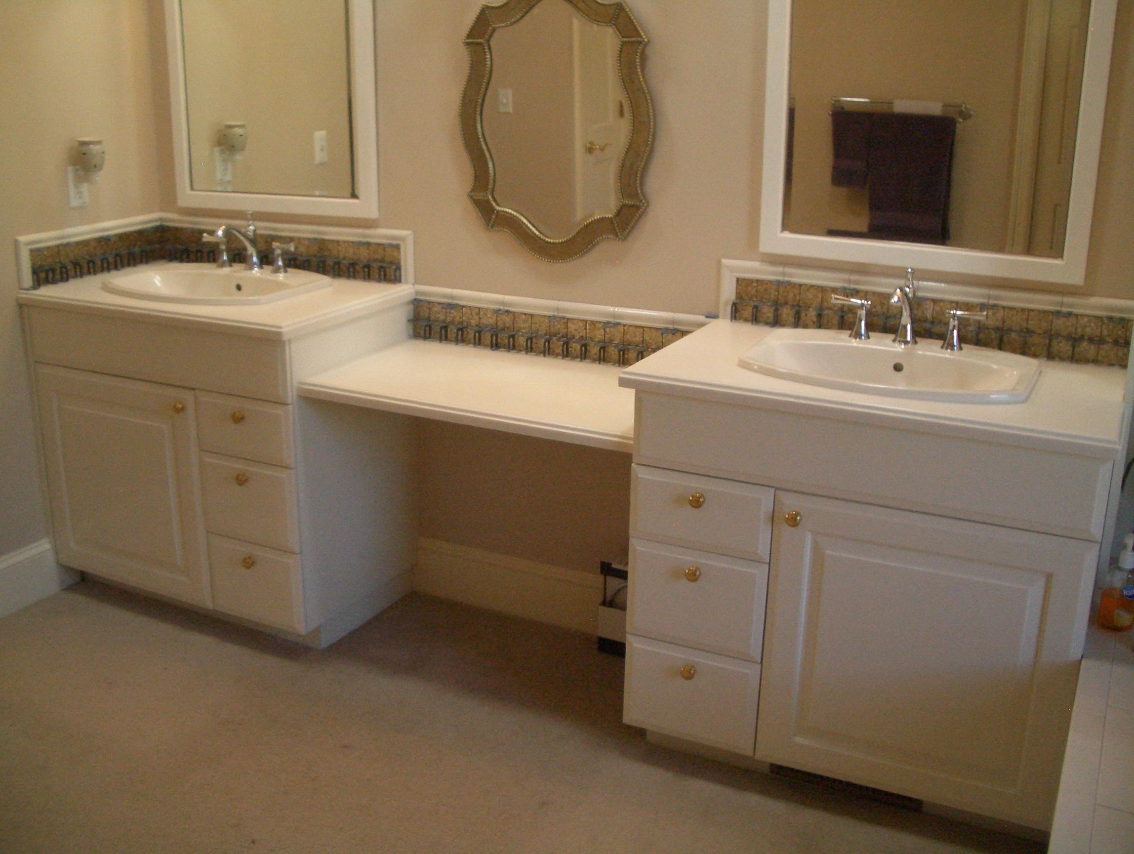 How To Install A Bathroom Vanity Backsplash Home Design Ideas