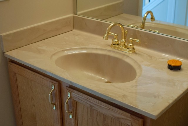 How To Paint A Bathroom Vanity Sink
