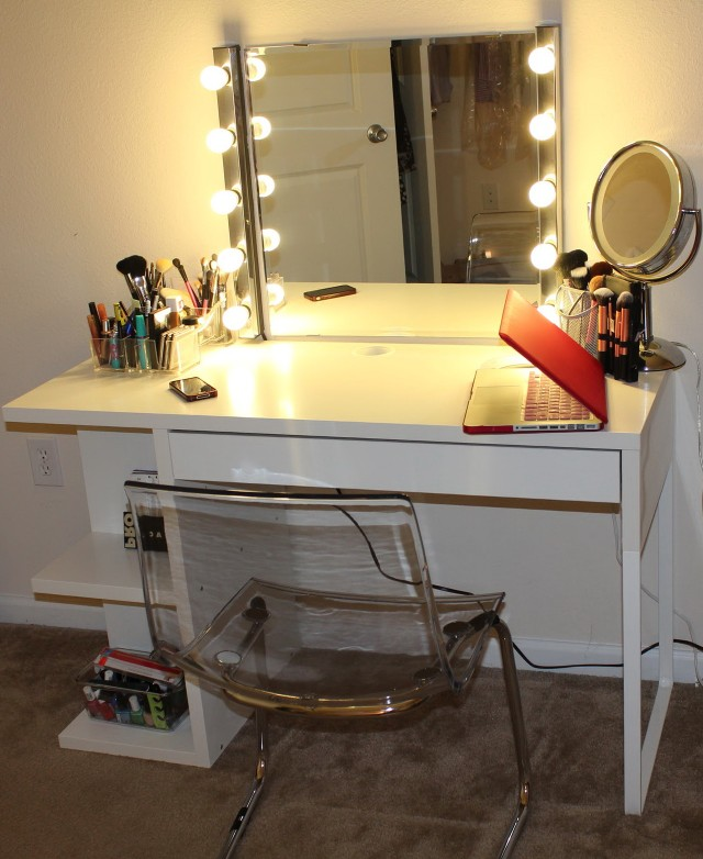 Ikea Micke Desk Vanity