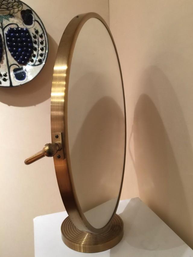 Elegant Large Tabletop Vanity Mirror