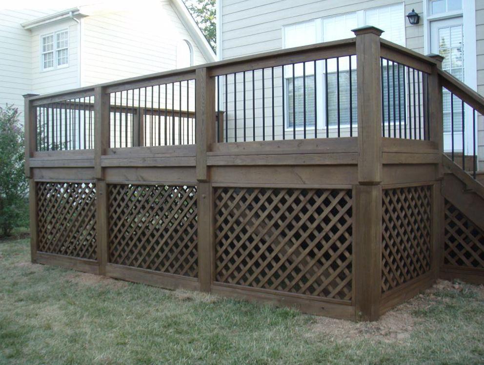 Lattice Under Front Porch - Lattice Under Front Porch Home Design Ideas